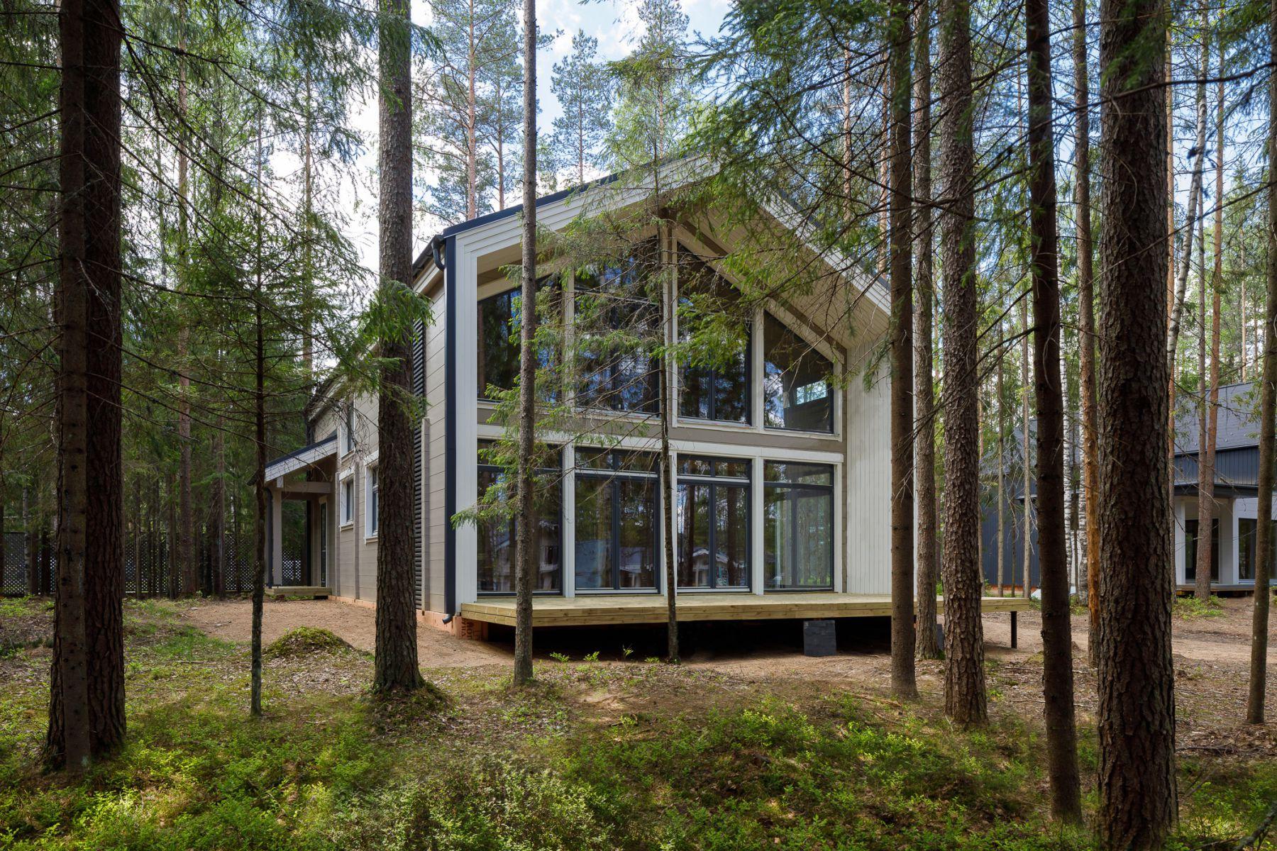 Дом на участке № 73a в КП «Медное Озеро 2» (Санкт-Петербург)