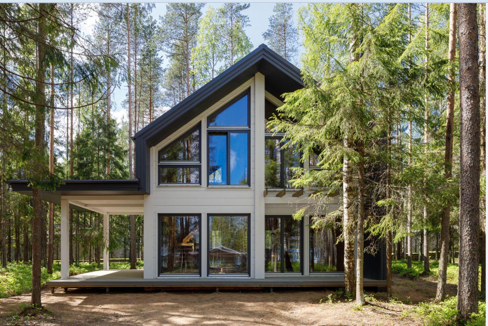 Дом на участке № 73б в КП «Медное Озеро 2» (Санкт-Петербург)