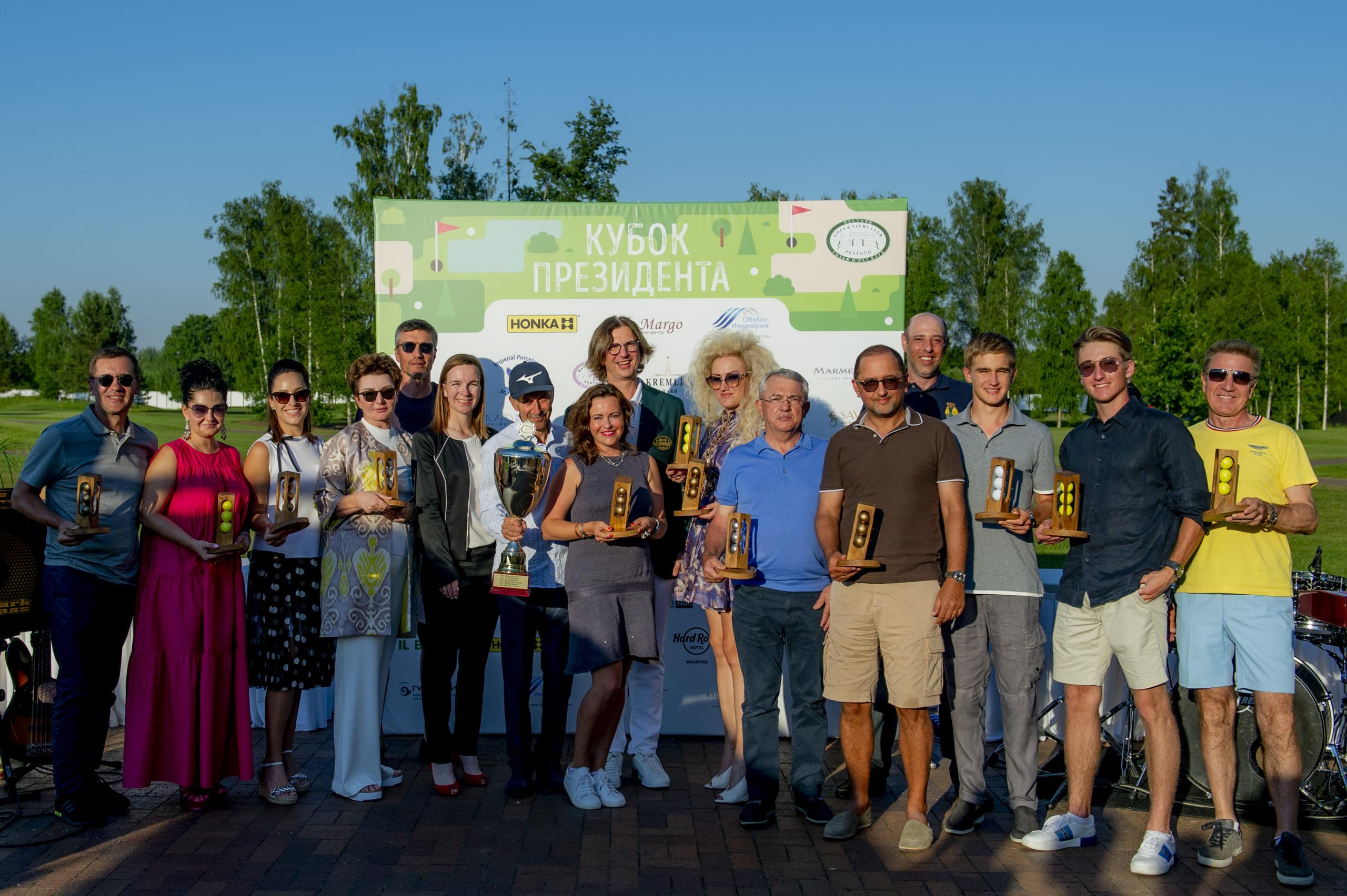 HONKA партнёр Кубка Президента гольф-клуба Пестово